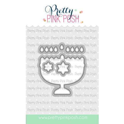Pretty Pink Posh Craft Die Set - Happy Hanukkah