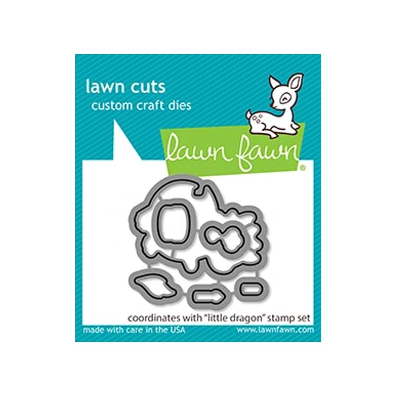Lawn Fawn Dies Little Dragon