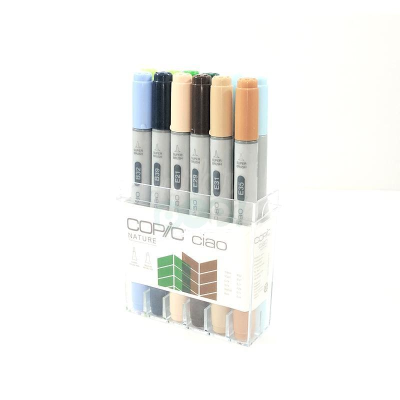 Copic Ciao Marker 12Pc Nature Markers
