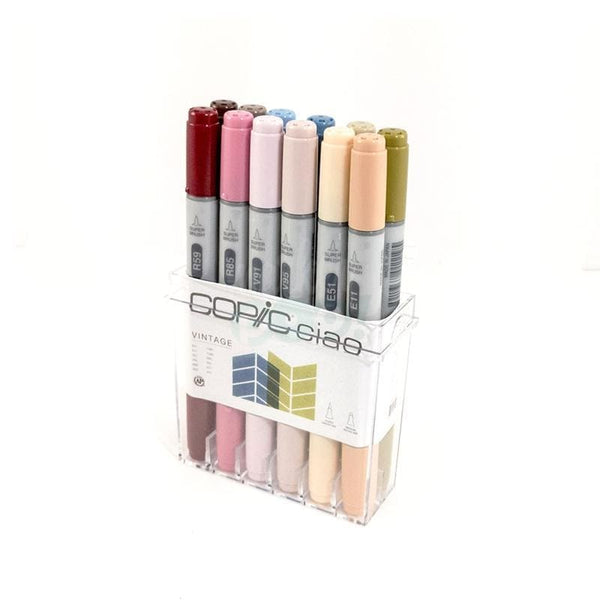 Copic Ciao Marker 12Pc Vintage Markers