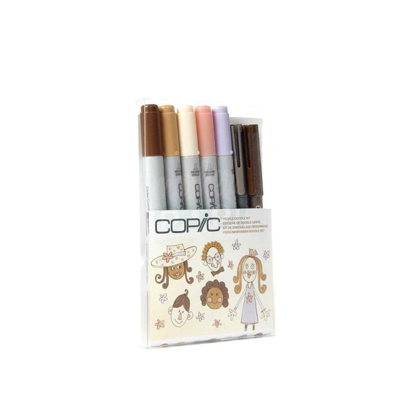 Copic Ciao Marker 7Pc Doodle People Markers