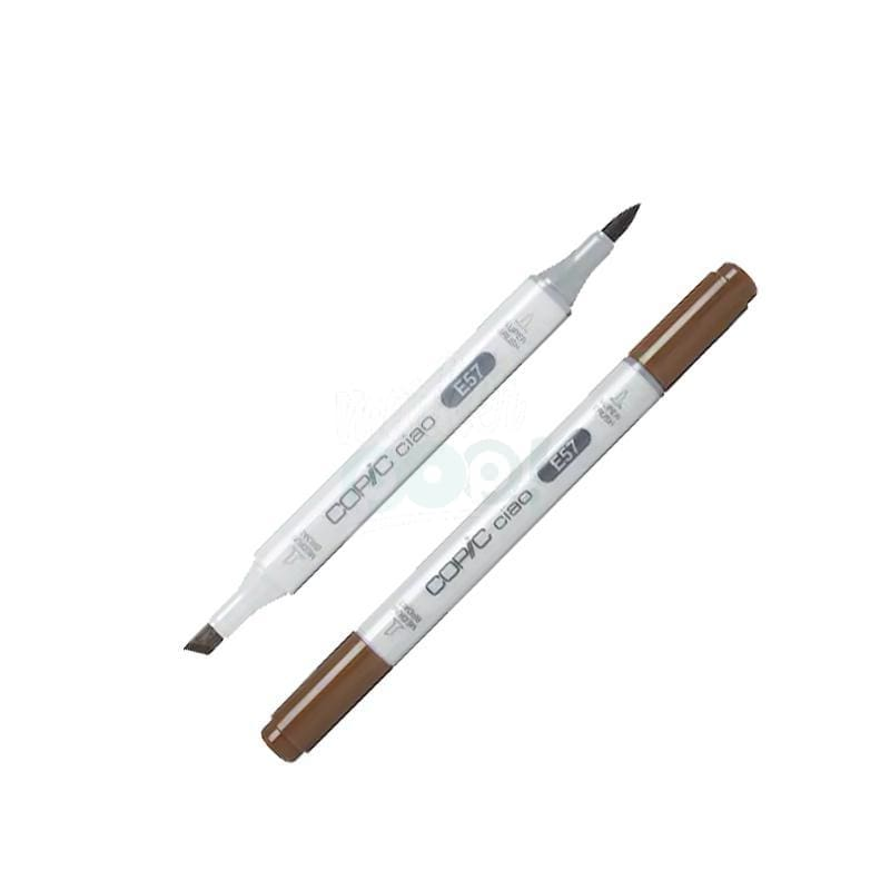 Copic Ciao Marker E57 Light Walnut Markers