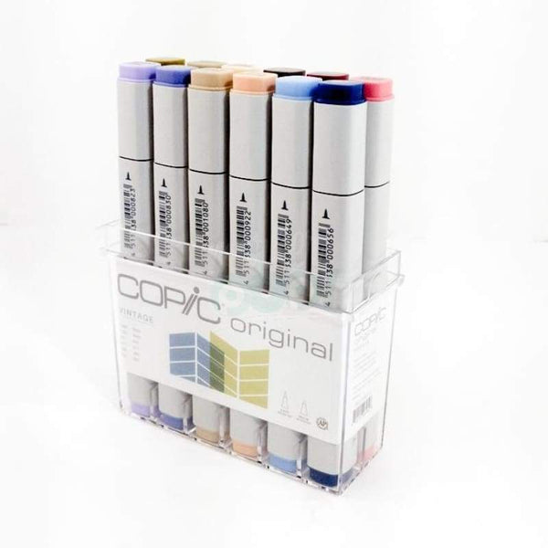Copic Original Marker 12Pc Vintage Markers