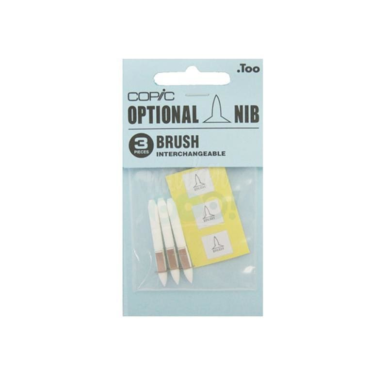 Copic Original Nib 3Pc Brush Nibs