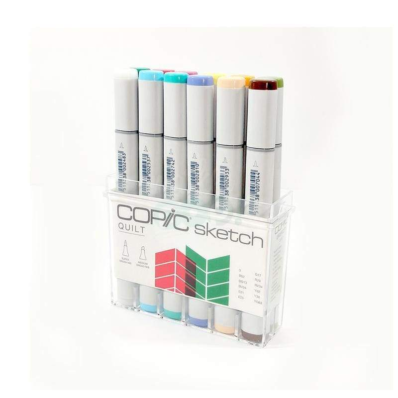 Copic Sketch Marker 12Pc Quilt Markers
