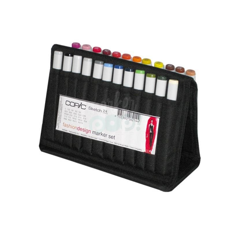 Copic Sketch Marker 24Pc Wallet Fashion Markers
