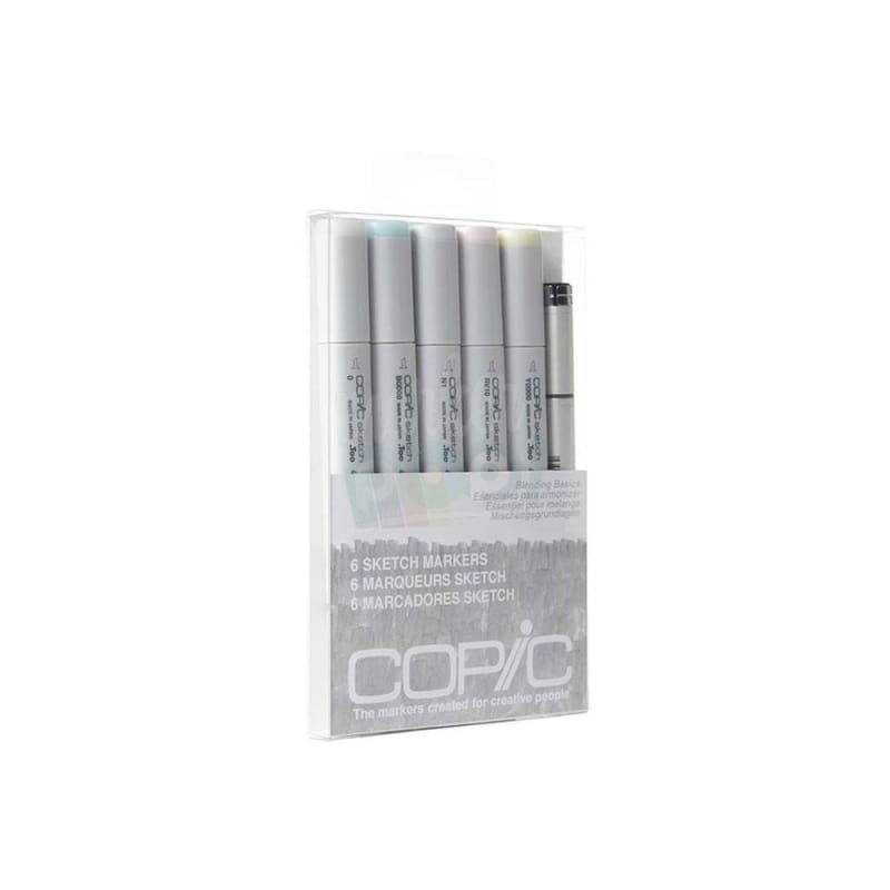 Copic Sketch Marker 5Pc Blending Basics Markers