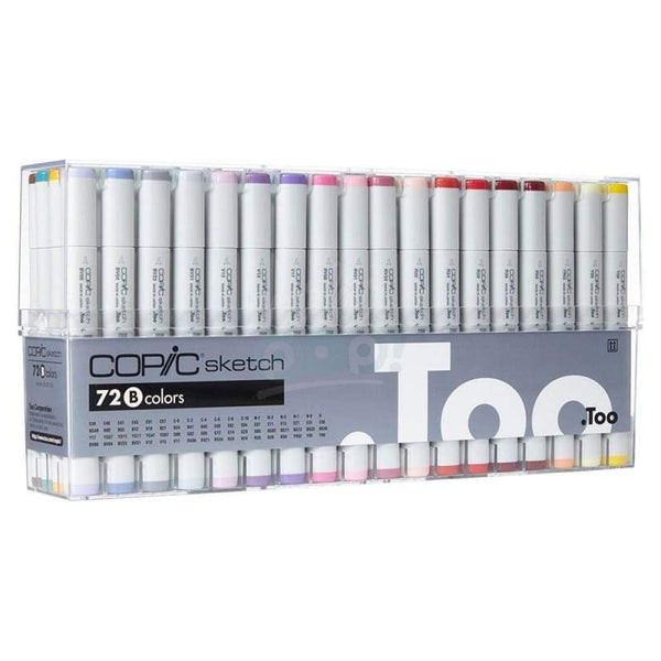 Copic Sketch Marker 72Pc B Markers