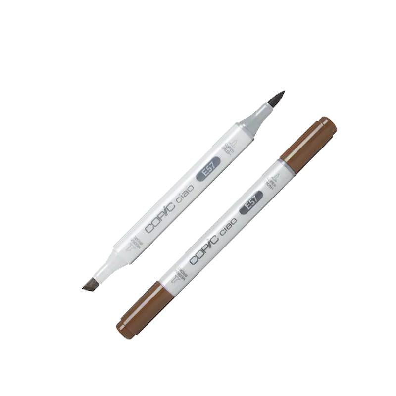 Copic Ciao Marker E57-I Light Walnut Markers