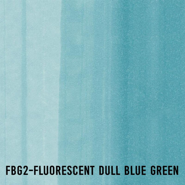 COPIC Ink FBG2 Fluorescent Dull Blue Green