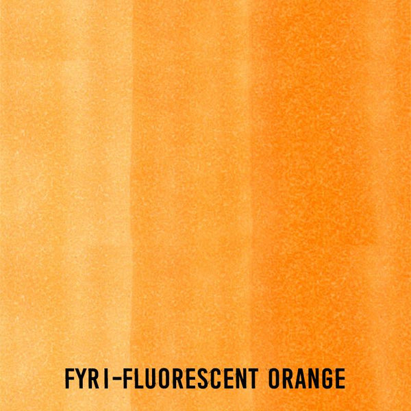 COPIC Ink FYR1 Fluorescent Orange