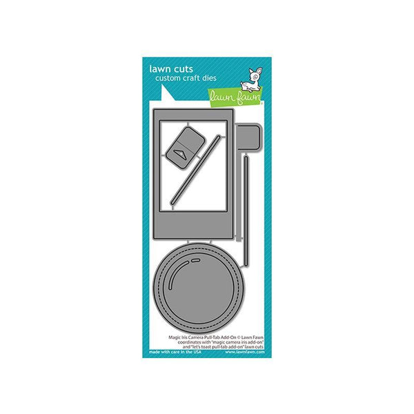 Lawn Fawn Dies Magic Iris Camera Pull-Tab