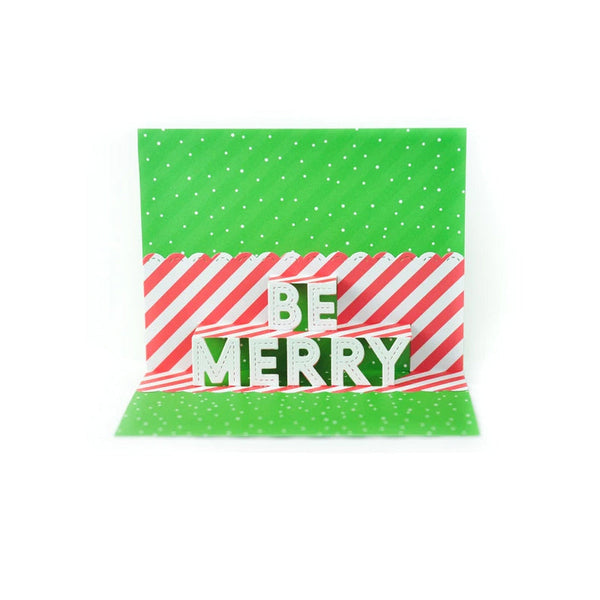Lawn Fawn Dies Pop-Up Be Merry
