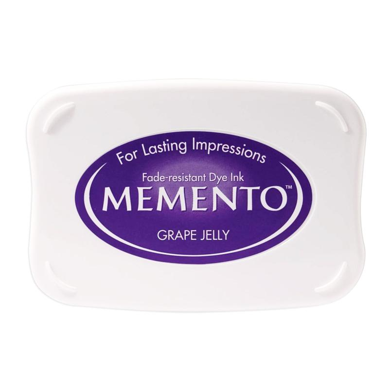Memento Full Size Dye Ink Pad - Grape Jelly