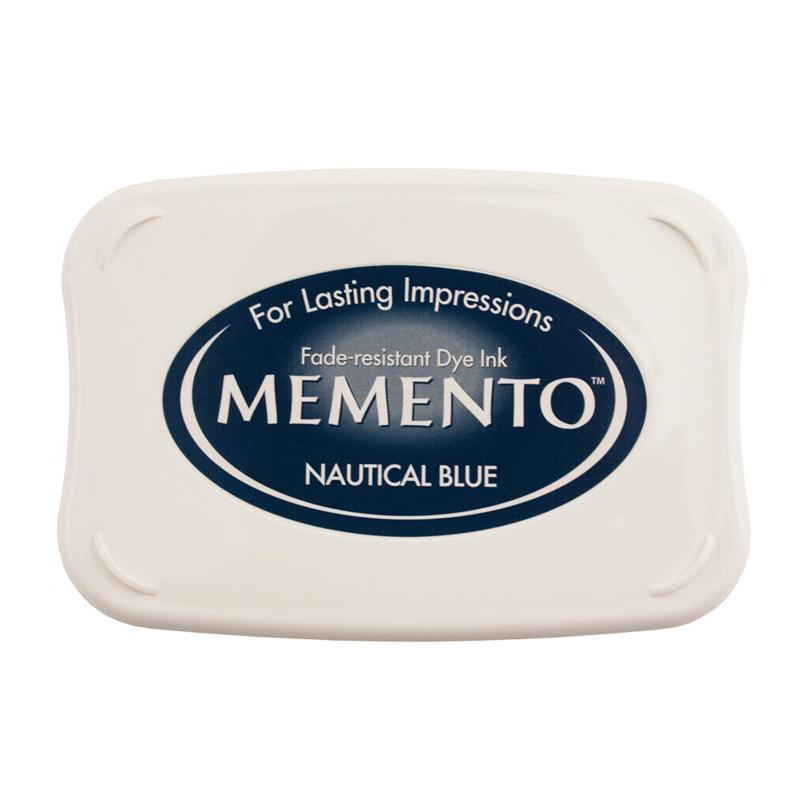 Memento Full Size Dye Ink Pad - Nautical Blue