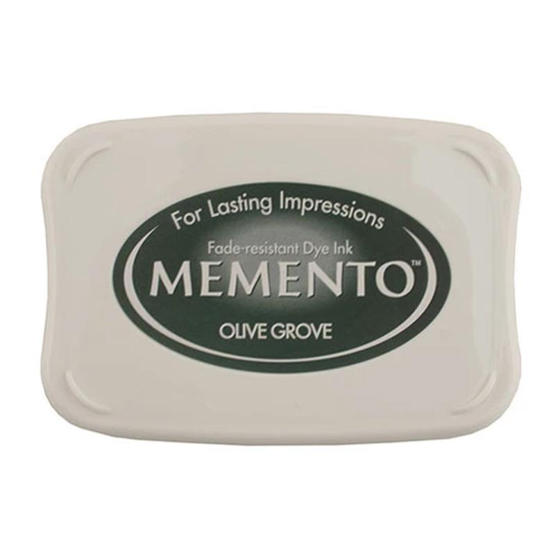 Memento Full Size Dye Ink Pad - Olive Grove