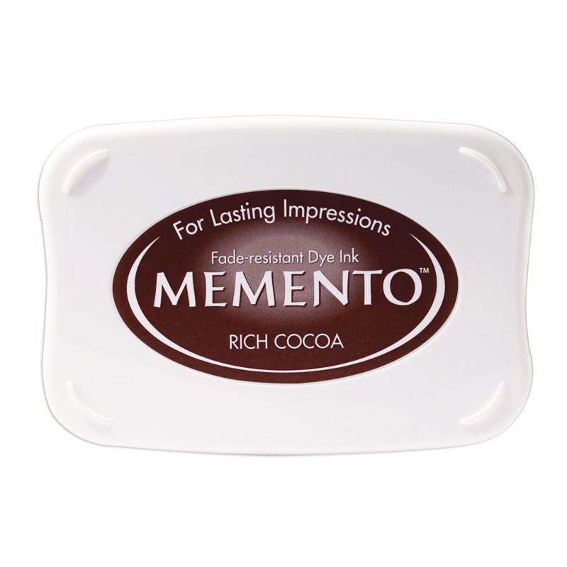 Memento Full Size Dye Ink Pad - Rich Cocoa