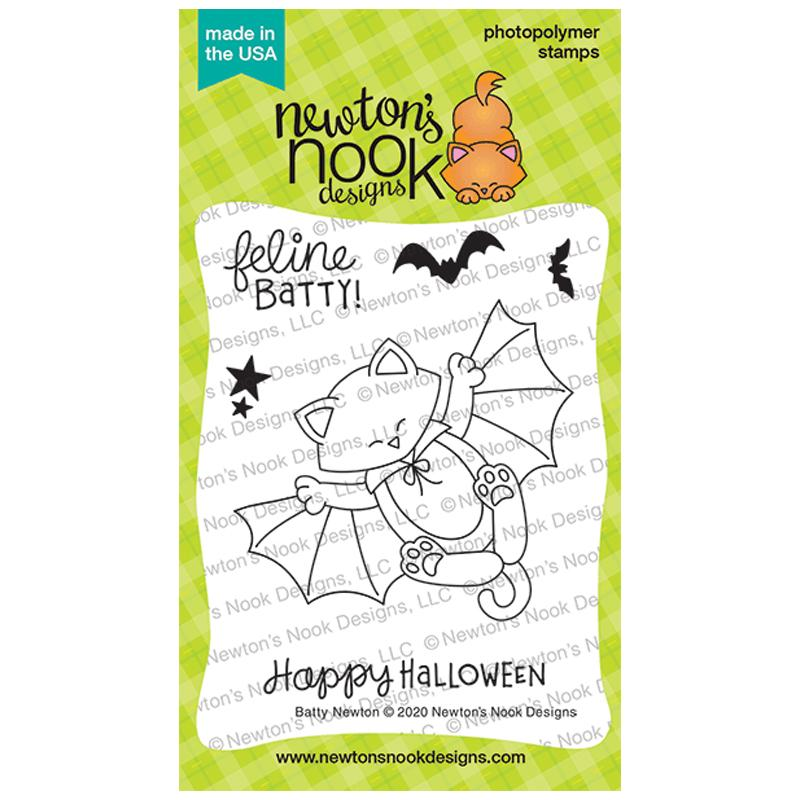 Newton's Nook Designs Clear Stamps Batty Newton