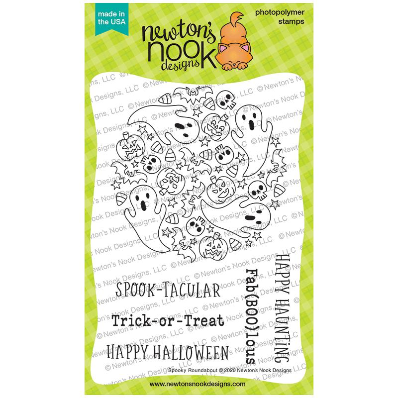 Newton's Nook Designs Clear Stamps Spooky Roundabout