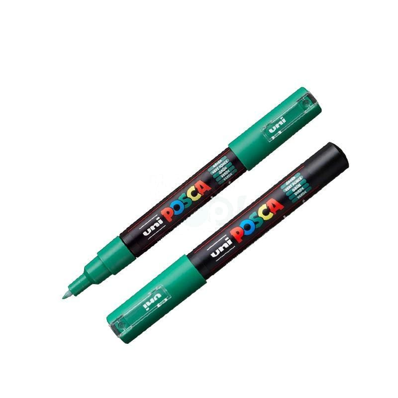 Posca Marker Pc-1M Green Markers