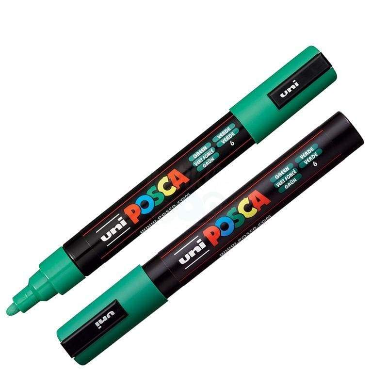 Posca Marker Pc-5M Green Markers