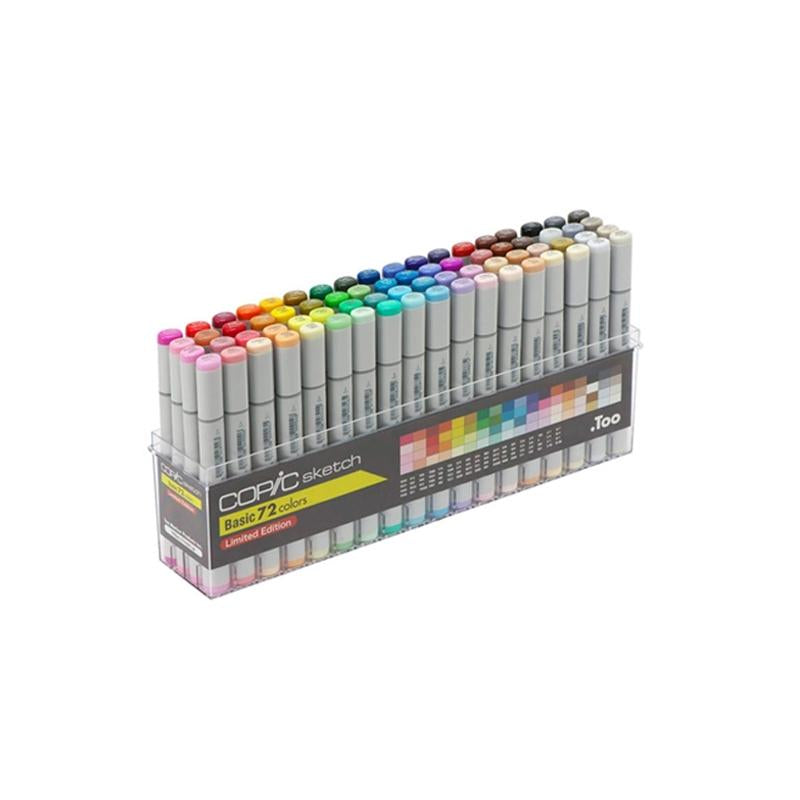 COPIC Sketch Marker 72pc Japan Exclusive