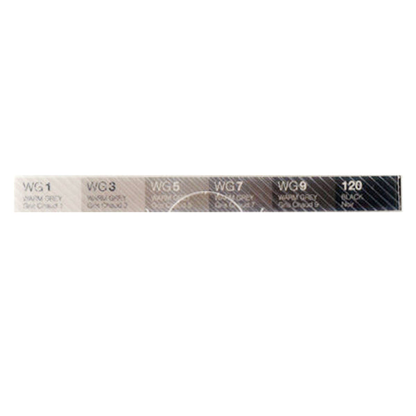 TOUCH Twin Brush Marker 6pc Warm Gray