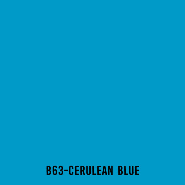 TOUCH Twin Brush Marker B63 Cerulean Blue