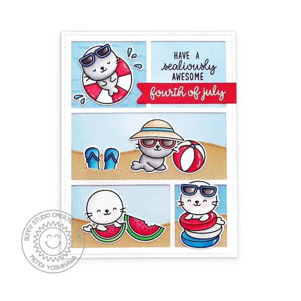 Sunny Studio Stamps Sealiously Sweet
