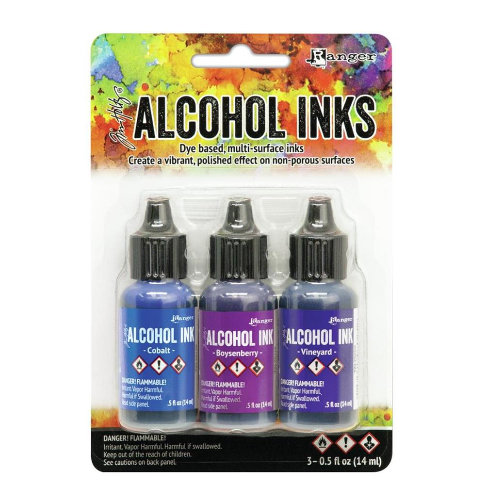 Tim Holtz Alcohol Ink 3pc Mint Green Spectrum
