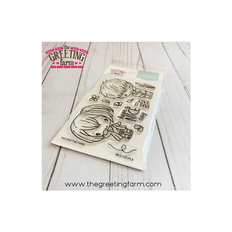 The Greeting Farm Clear Stamps Nice Couple