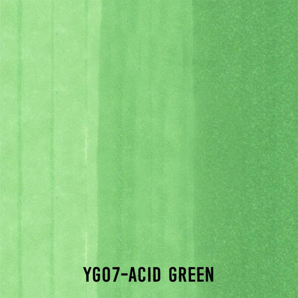 COPIC Ink YG07 Acid Green