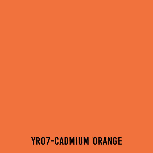 COPIC Ink YR07 Cadmium Orange