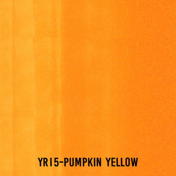 COPIC Ink YR15 Pumpkin Yellow