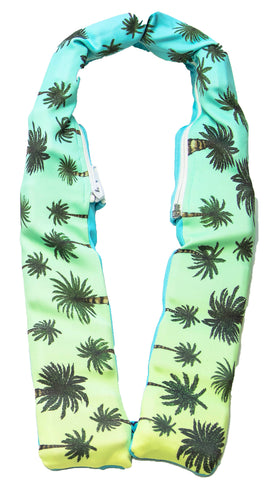 Tropicool neck cooler wrap for hot weather