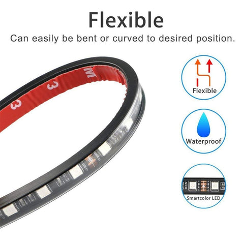 White/RGB Flexible LED Strip Light