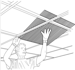 How To Install Tin Ceiling Tiles