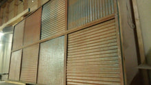 Corrugated Ceiling Tiles