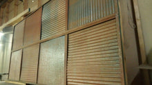 Corrugated Metal Ceiling Tiles - Scratch & Dent