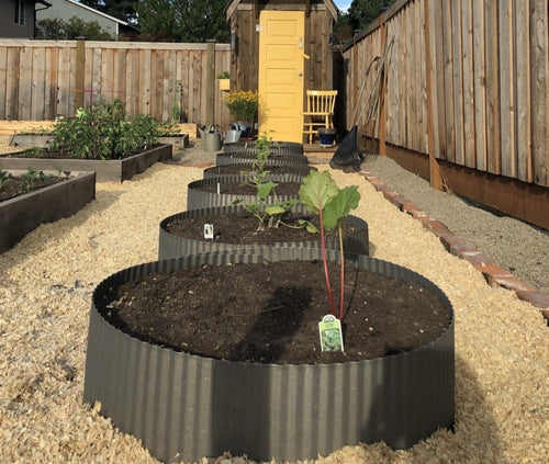 Corrugated Garden Edging