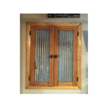 Corrugated Barn Tin Wainscoting