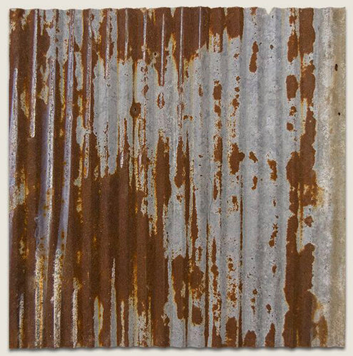 Barn Tin Corrugated Ceiling Tile - Sample