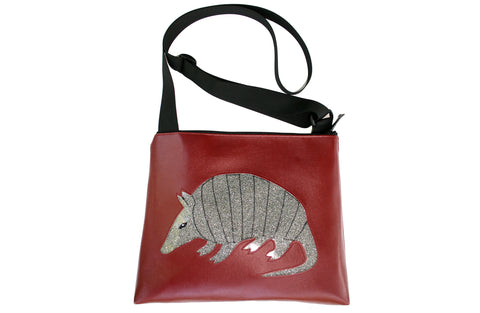 Jackrabbit on burnt orange large bag