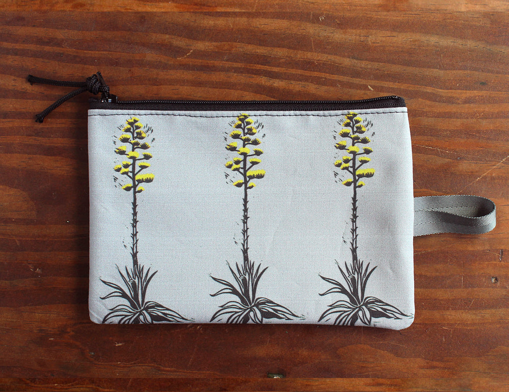 Century Plant zipper bag