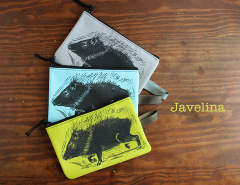 Jackrabbit zipper bag