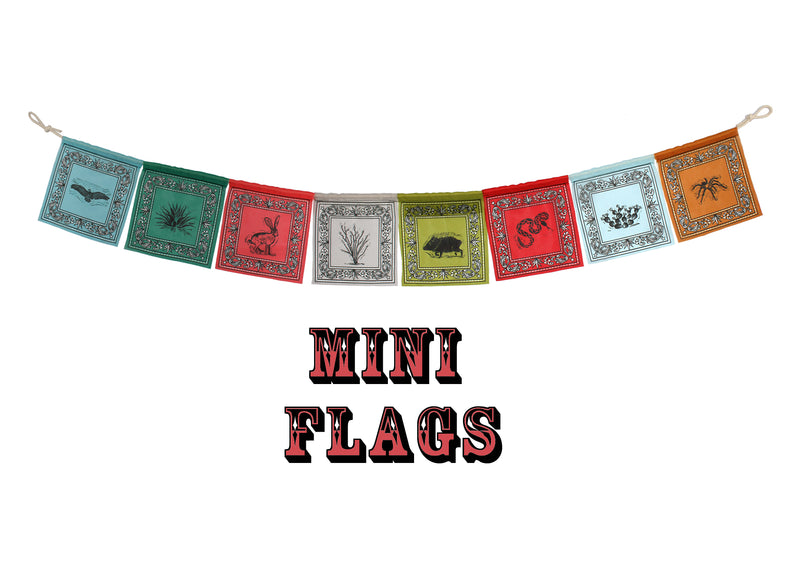 MINI Desert Prayer Flags