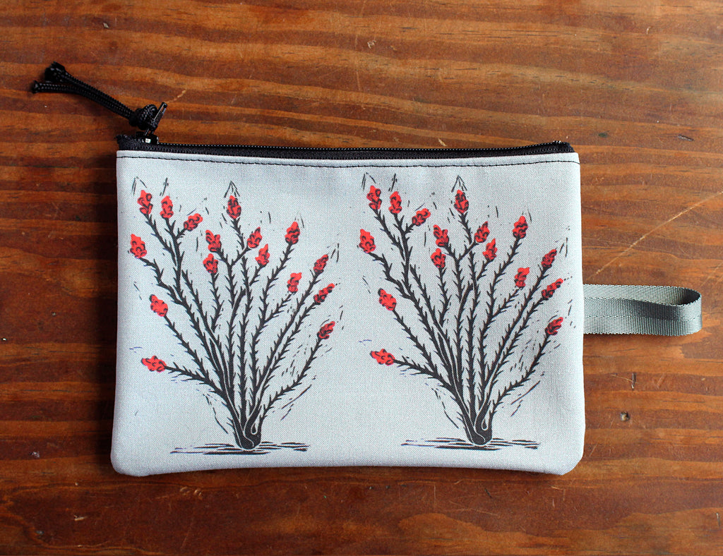 Ocotillo zipper bag