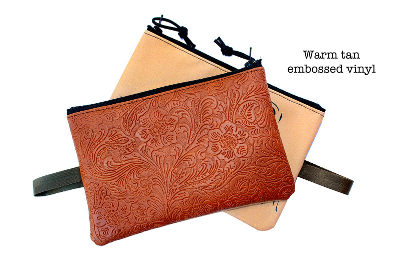 Pronghorn zipper bag : many colors!