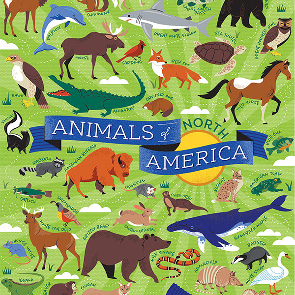 Animals & Kids-Animals of North America