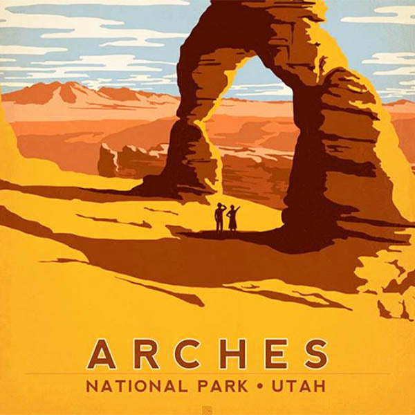 National Parks & Landmarks-Arches